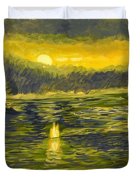 After The Storm Duvet Cover by Susan Schmitz