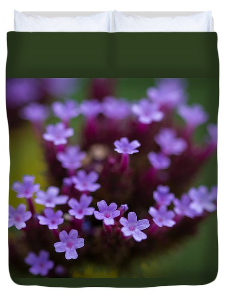tiny blossoms II Duvet Cover by Andreas Levi