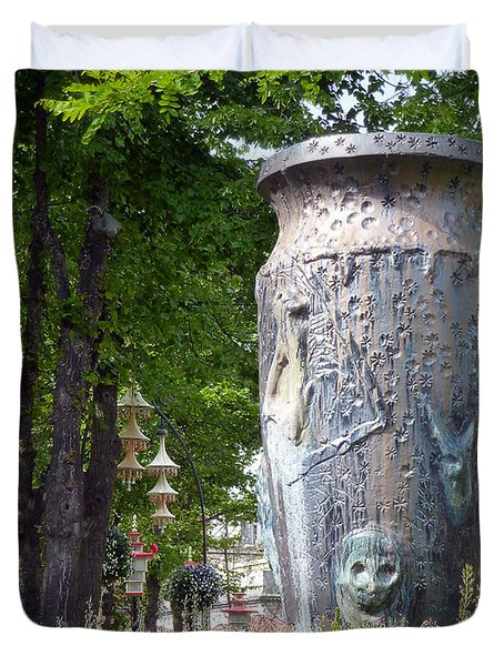 Tivoli Gardens Duvet Cover