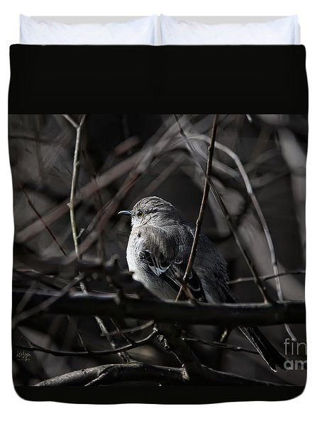 To Kill A Mockingbird Duvet Cover by Lois Bryan