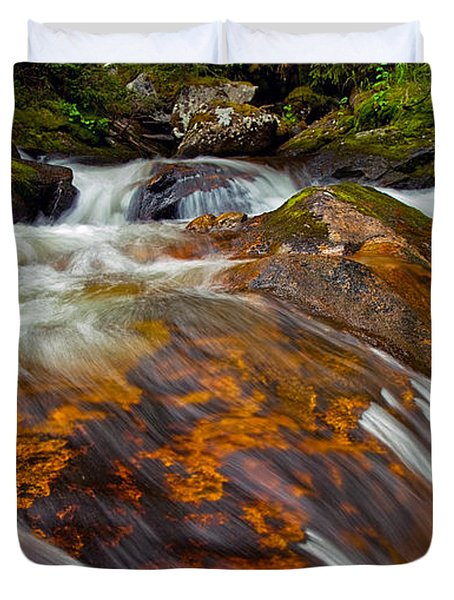 Tonahutu Creek Duvet Cover by Brian Kerls