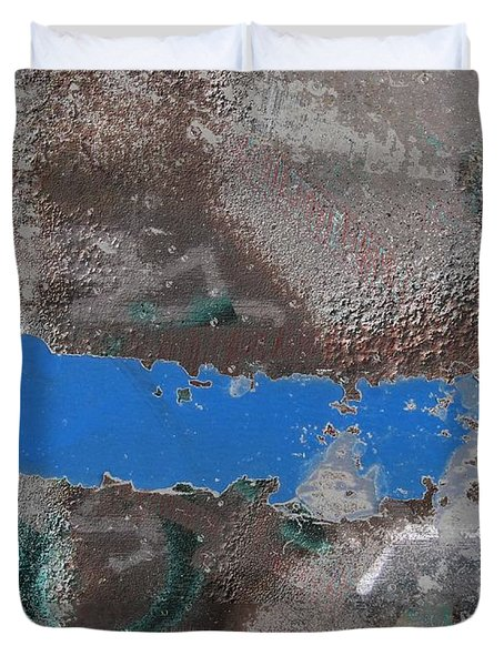 Torn 2 Duvet Cover by Tim Allen
