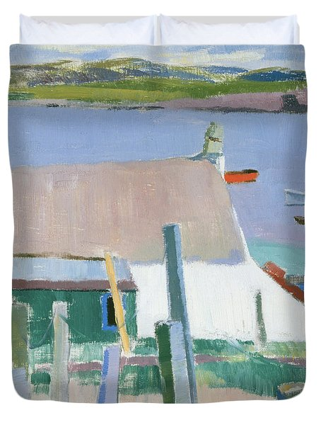 Towards Mull Duvet Cover by Francis Campbell Boileau Cadell