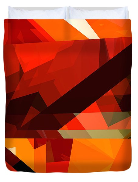 Tower Series 14p Duvet Cover by Russell Kightley