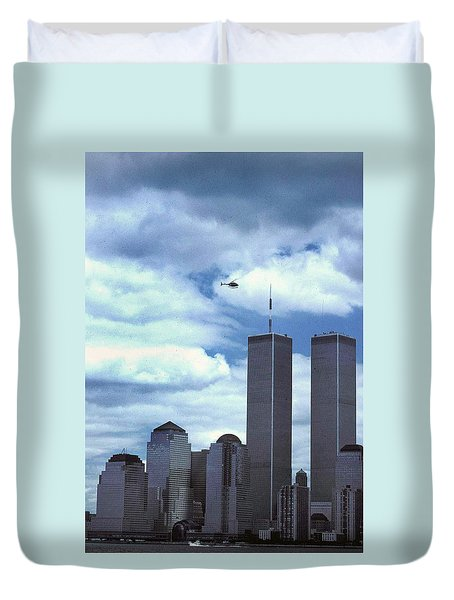 Towers Duvet Cover by Skip Willits