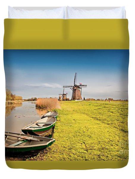 Traditional  Dutch Landscape Duvet Cover