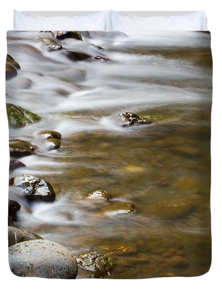 Tranquil Duvet Cover by Heidi Smith