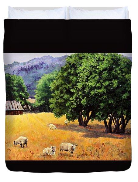 Tranquil Pastures Duvet Cover