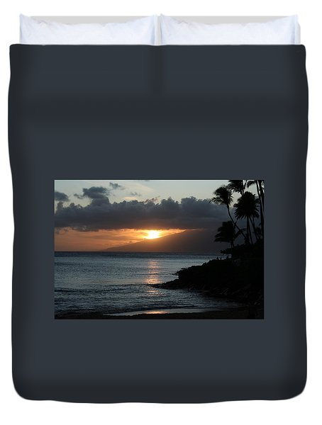 Tranquility At Its Best Duvet Cover