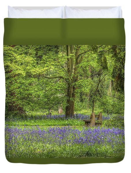 Duvet Cover featuring the photograph Tranquility by Clare Bambers