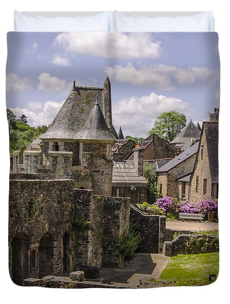 Duvet Cover featuring the photograph Tranquility by Marta Cavazos-Hernandez