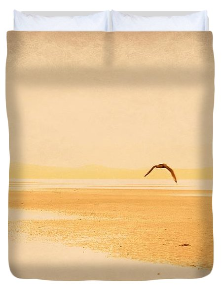 Duvet Cover featuring the photograph Tranquillity by Marilyn Wilson