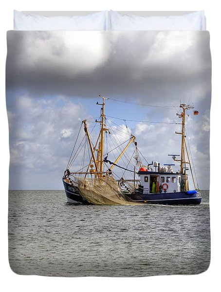 trawler - Sylt Duvet Cover by Joana Kruse