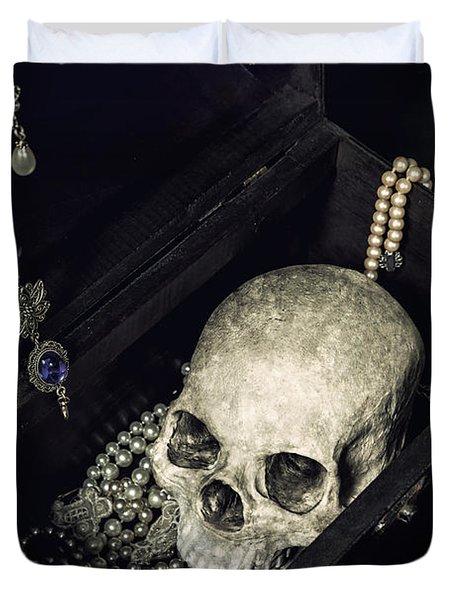 Treasure Chest Duvet Cover by Joana Kruse