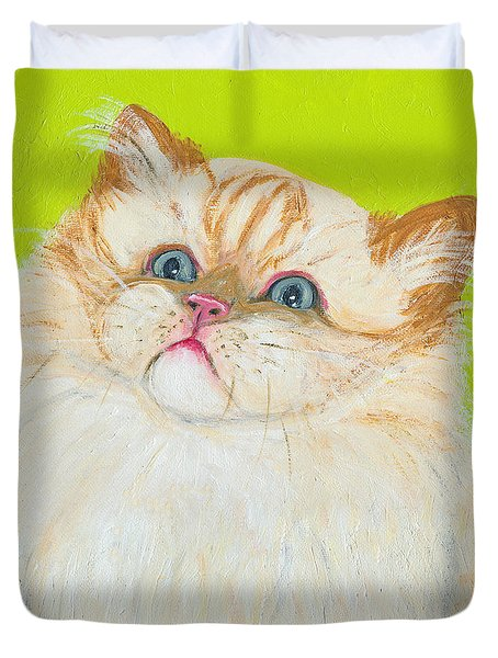 Treat Please Duvet Cover