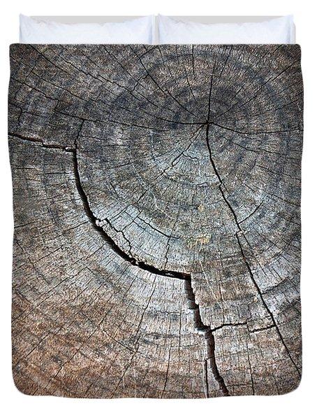 Tree Trunk Duvet Cover by Carlos Caetano