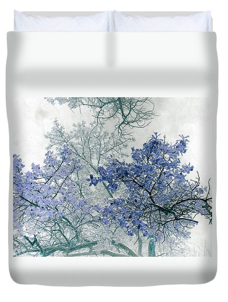 Trees Above Duvet Cover