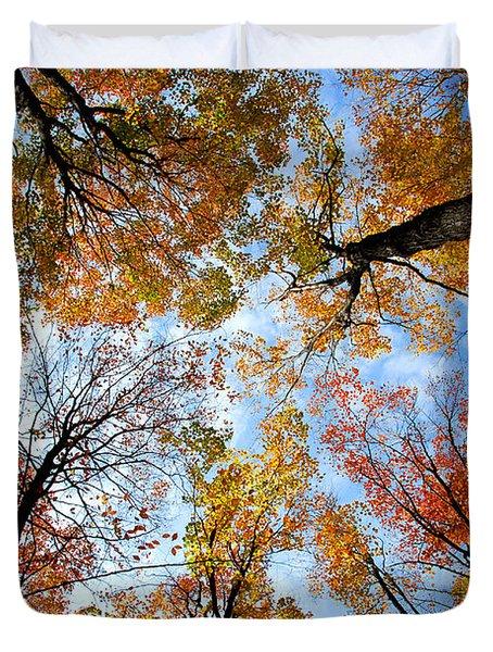 Treetops Duvet Cover by Elena Elisseeva