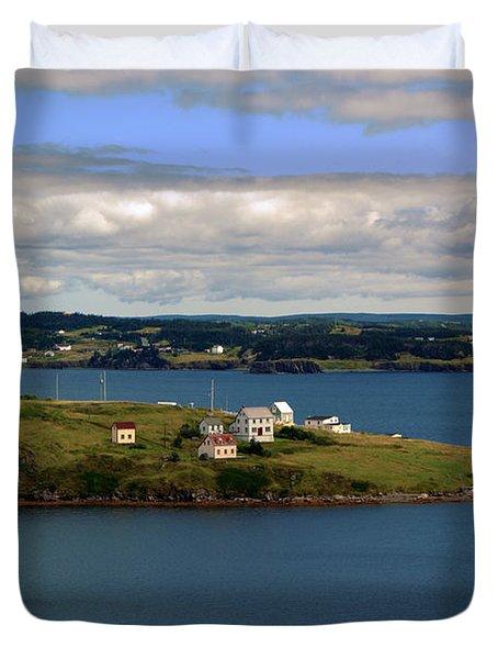 Trinity Bay Duvet Cover by Leanna Lomanski