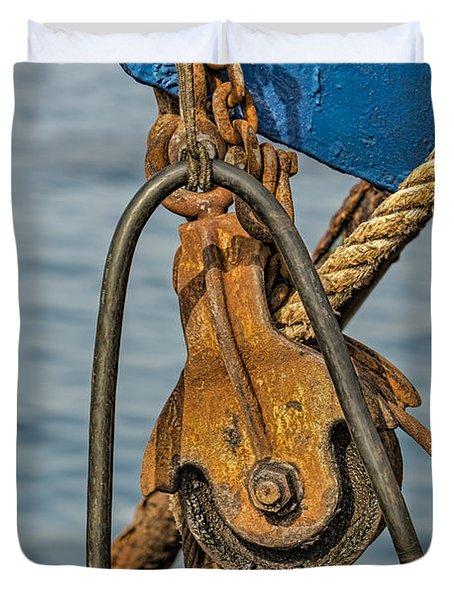 Troller Details Duvet Cover by Susan Candelario