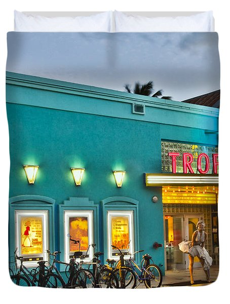 Tropic Cinema Duvet Cover