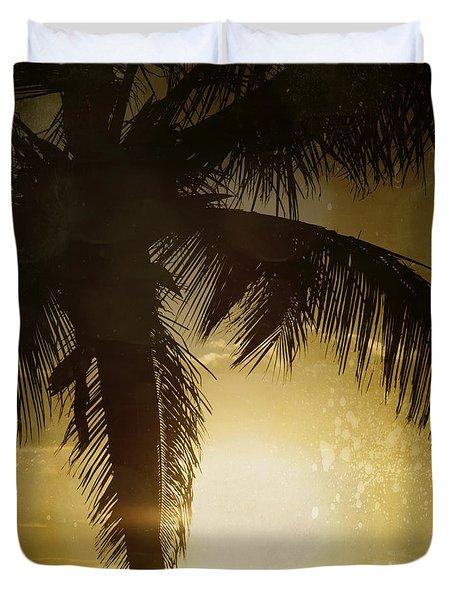 Tropical Paradise Duvet Cover by Sharon Mau