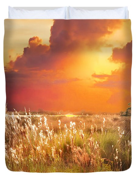 Tropical Savannah Duvet Cover