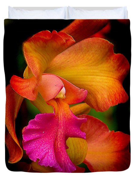 Tropical Splendor Duvet Cover