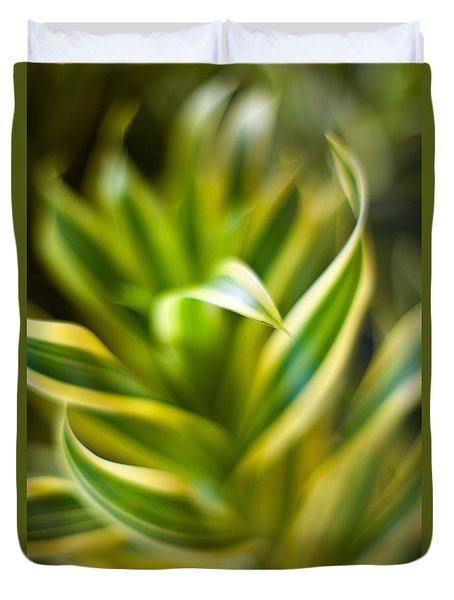 Tropical Swirl Duvet Cover