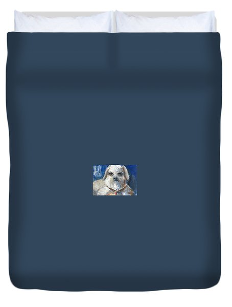 Trouble Duvet Cover