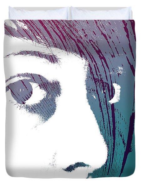 Duvet Cover featuring the photograph True Colors by Lauren Radke