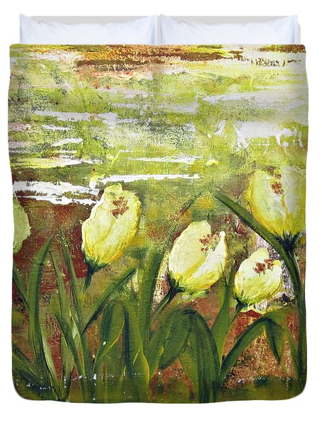 Tulip Dance Duvet Cover