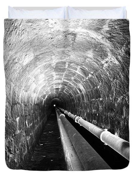 Tunnel Duvet Cover by Gaspar Avila