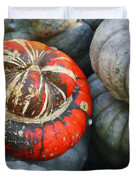 Turban Pumpkin Duvet Cover