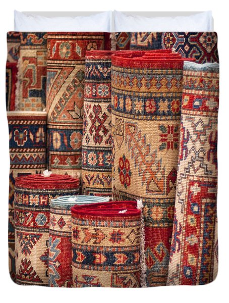 Turkish Carpets Duvet Cover