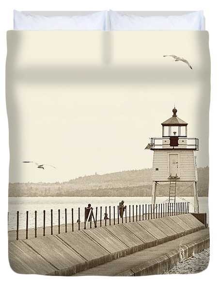 Two Harbors Duvet Cover