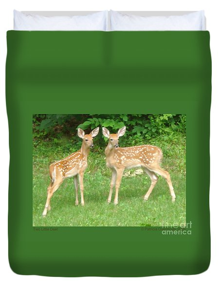 Two Little Deer Duvet Cover