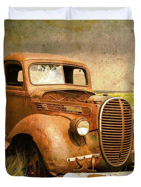 Two Ton Truck Duvet Cover