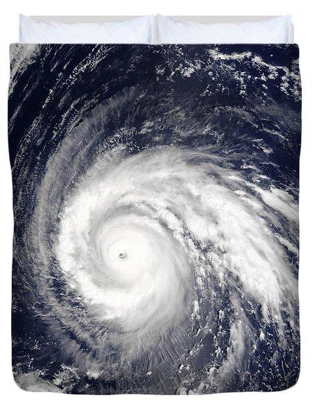 Typhoon Higos Duvet Cover