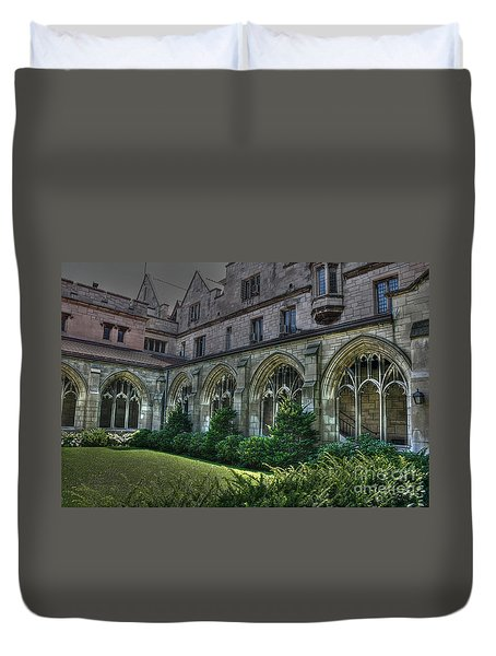 U Of C Grounds Duvet Cover by David Bearden