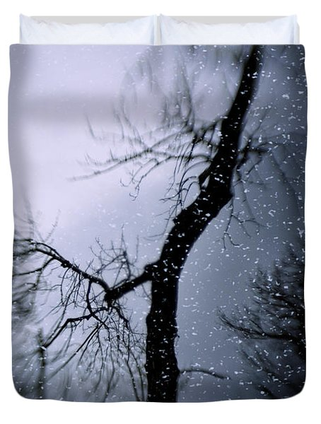 Under The Snow Duvet Cover