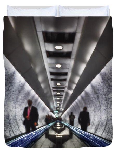 Underground Network Duvet Cover