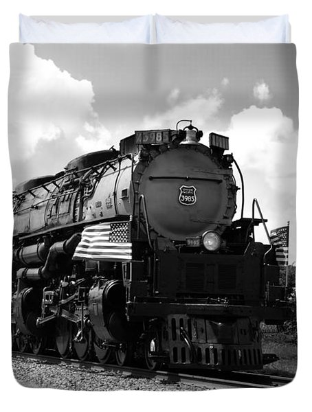 Union Pacific 3985 Duvet Cover