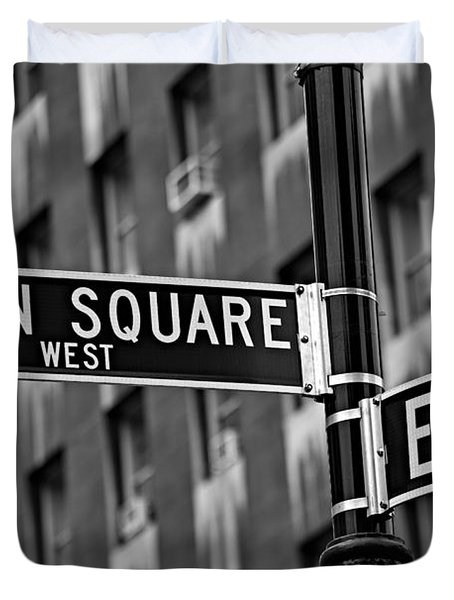 Union Square West Duvet Cover by Susan Candelario