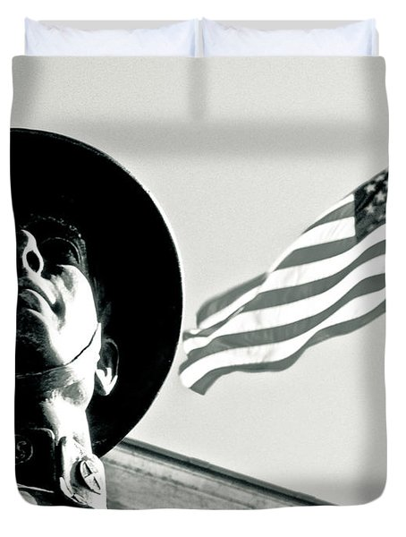 United We Stand Theme Duvet Cover by Syed Aqueel