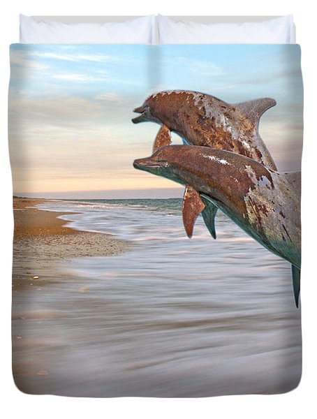 Unknown Thought Duvet Cover