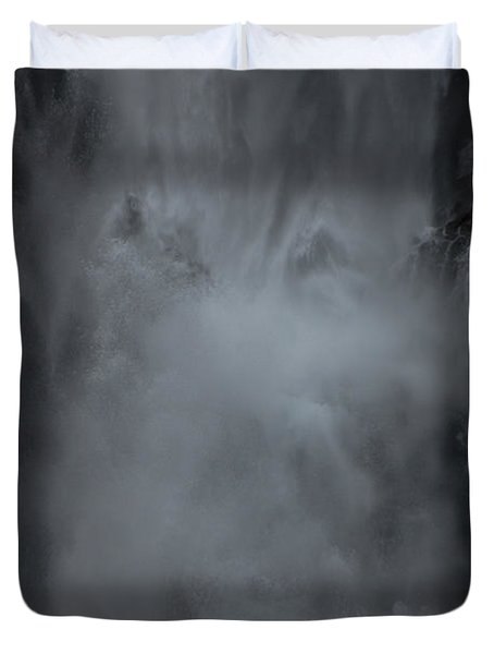 Untapped Power Duvet Cover