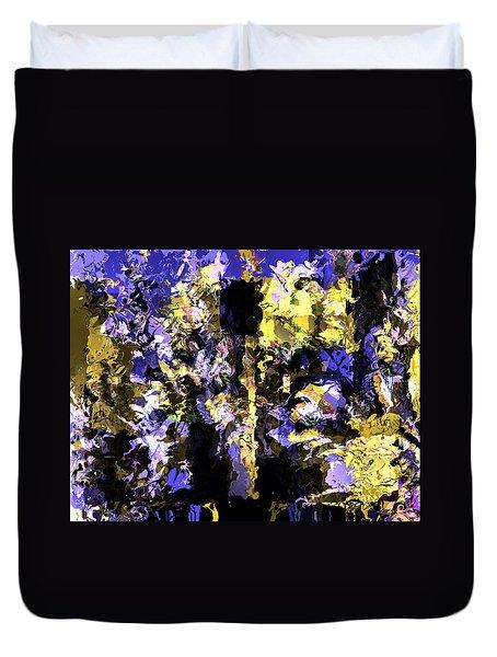 Untitled Blue Duvet Cover
