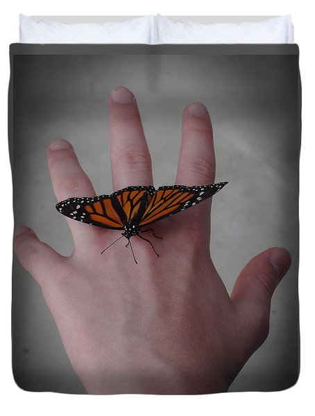 Upon My Hand Duvet Cover