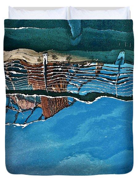 Upside-down World Series 5 Duvet Cover by Heiko Koehrer-Wagner